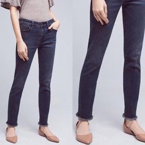 Anthropologie Pilcro Script Fray Hem Jean